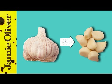 How To Easily Peel Garlic | 1 Minute Tips | Jamie Oliver