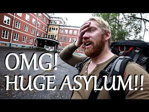 Abandoned Asylum!!! I CAN´T BELIEVE THIS!! in SWEDEN Part.1 urban exploration