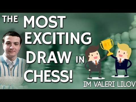 The Most Exciting Draw in Chess History 📜! - [FREE Training]