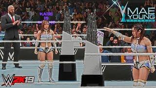 WWE 2K19: Mae Young Classic Trophy (Custom Victory Scene) ft. Kairi Sane 2017 Victory - PC Mods