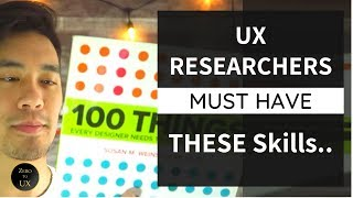 5 MUST HAVE Skills for UX Research 2019 | Zero to UX
