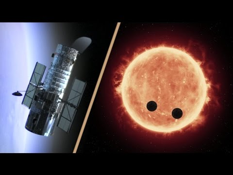 Hubble Makes First Measurements of Earth-Sized Exoplanet Atmospheres