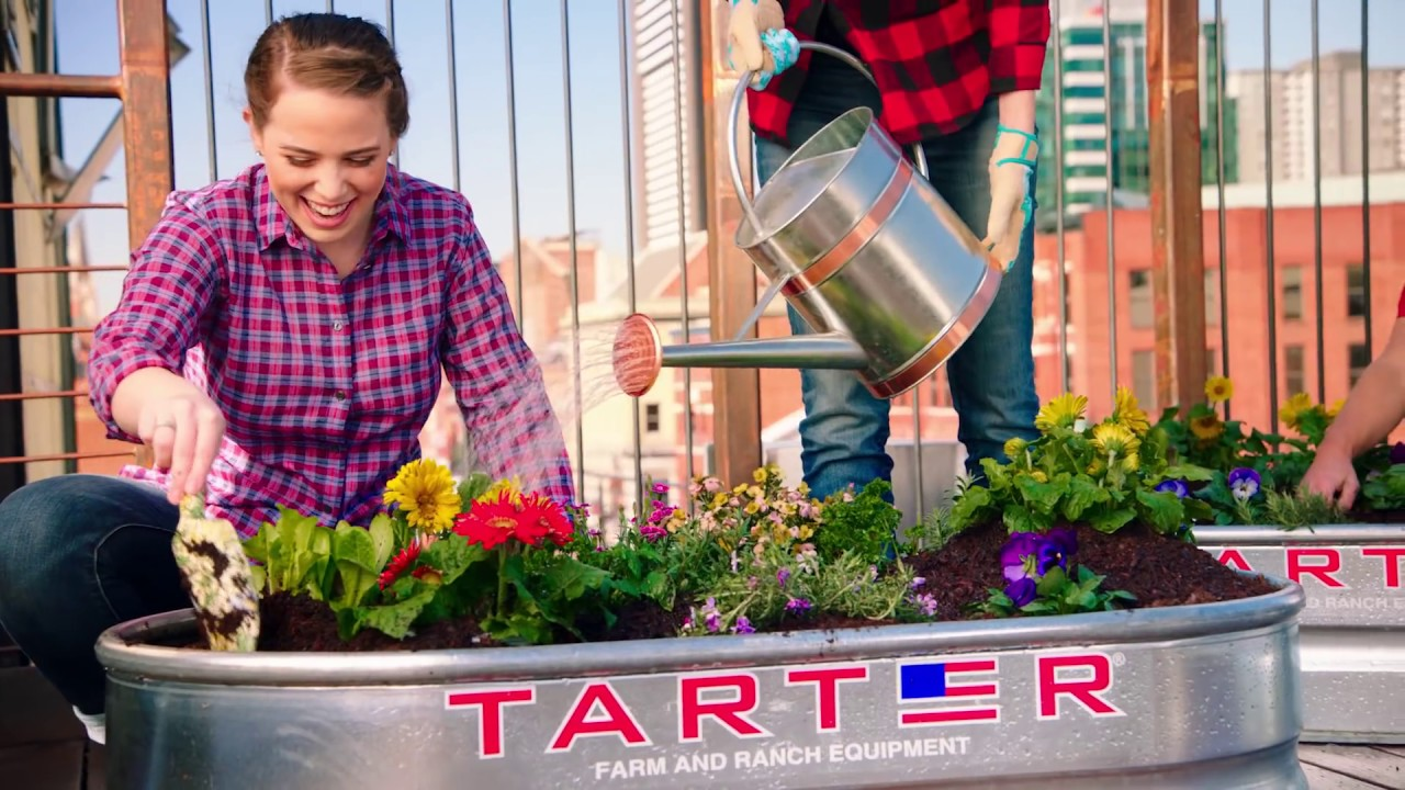 Check out Tarter's line of Galvanized Steel Stock Tanks