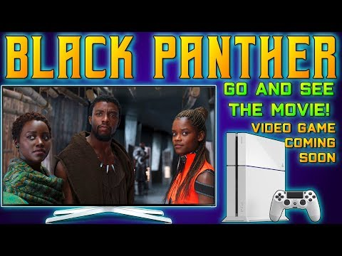 MARVELS BLACK PANTHER VIDEO GAME!! Coming After MARVEL AVENGERS GAME!?! Black Panther Game TEASED!!