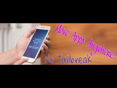 how to move app icons on iphone how to move app icons anywhere no jailbreak on iphone 7402