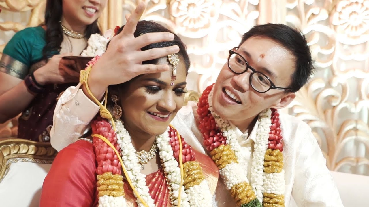 chinese indian malaysia bride kavitha groom marriage