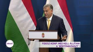 Fidesz-KDNP: Meg kell állítani a