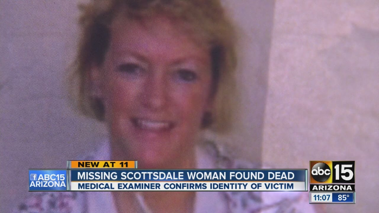 missing scottsdale woman found dead youtube