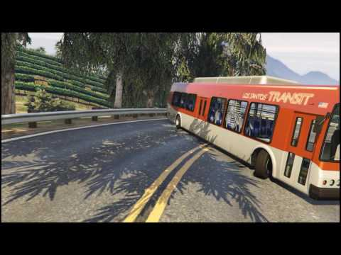 Bus drift | GTA5 Clips