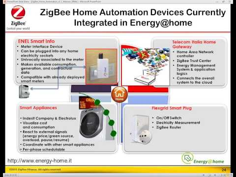 ZigBee Home Automation 1.2 - Delivering Peace of Mind through Secure and Energy Efficient Homes