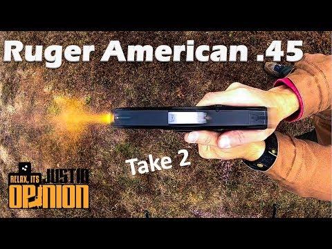 Ruger American .45 - Take 2