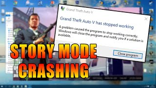 GTA V PC Story Mode Crashing Solution Fix 2018