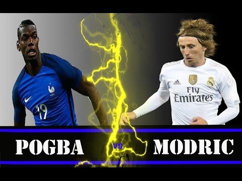 Luka Modric V S Paul Pogba ~ Skills and Goals