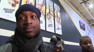 Inside Marquette Basketball - Catching up with Dwyane Wade, Jae Crowder
