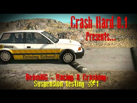 BeamNG - Racing & Crashing: A New Suspension Testing Area #1