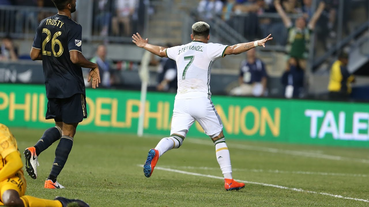 GOAL | Brian Fernandez finishes off Timbers run to earn a brace