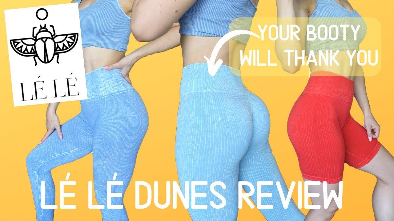 INSTAGRAM FAMOUS LEGGINGS?!   Le Le Fashion Boutique Dunes Leggings Review!