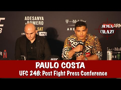 Paulo Costa Reacts to Israel Adesanya vs. Yoel Romero at UFC