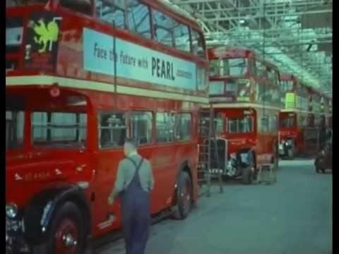 aldenham works routemaster london transport