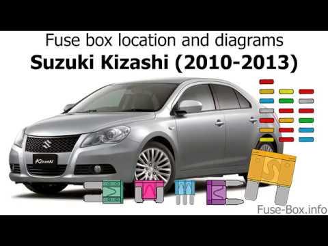 2010 Suzuki Kizashi Fuse Box Location Electronic Schematics