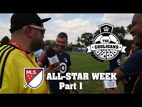 Stand-up comedians at MLS All-Star Week in Chicago - Part 1