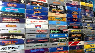My NES collection, updated!