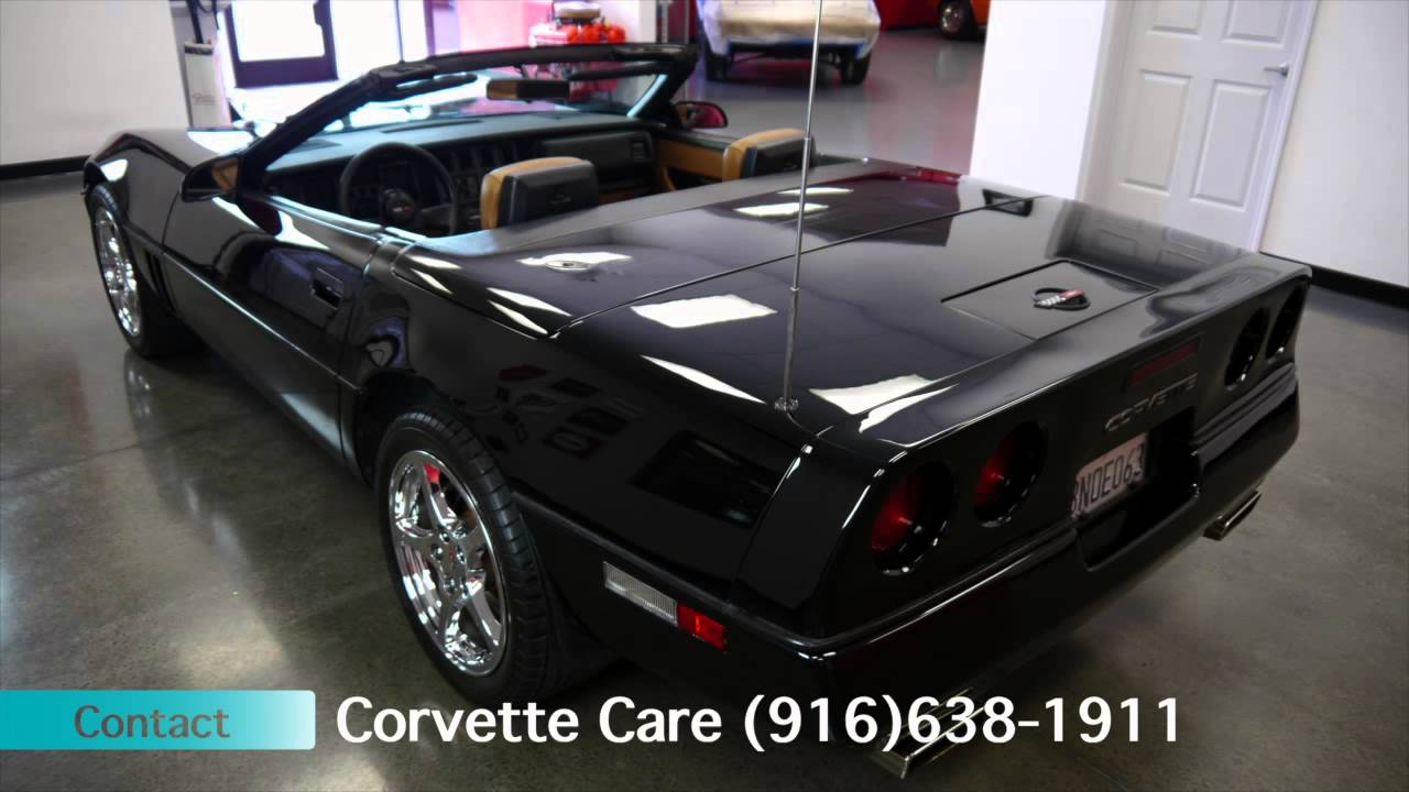 1989 Corvette Convertible for sale (916)638-1911 - YouTube