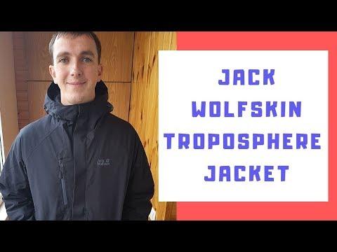 Куртка Jack Wolfskin Troposphere Jacket M 1111711-6000 XL Черная (4060477270470)