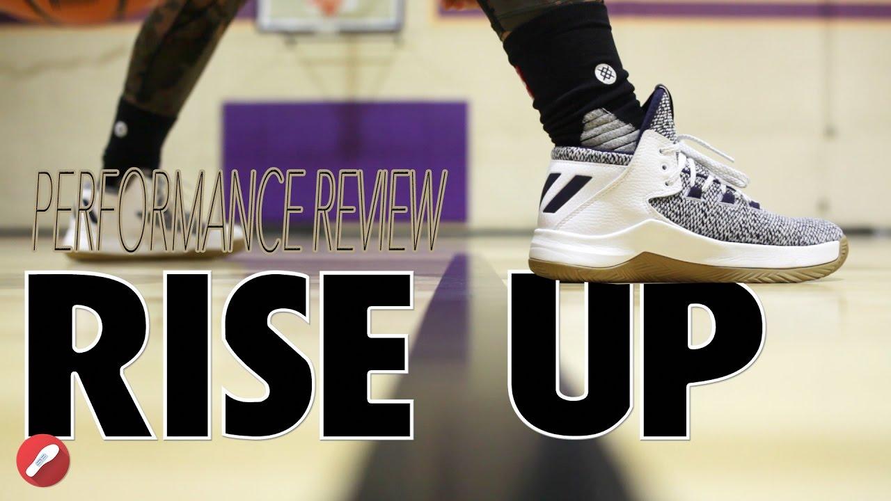 Super descuento características sobresalientes Venta caliente genuino Adidas Rise Up Performance Review! - YouTube