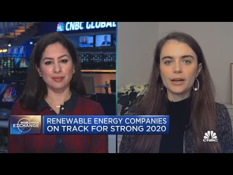 Renewable energy had a record year in 2020, and Wall Street sees more gains in 2021