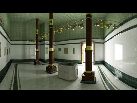 Door of kaaba opening {Full HD}