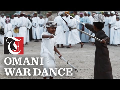 Omani war dance