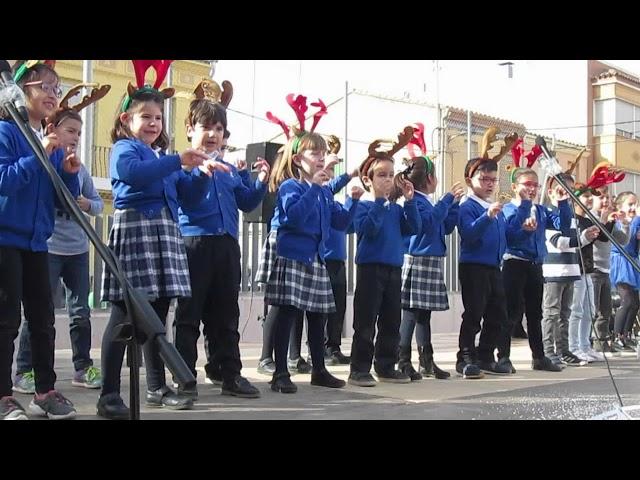 Festival Nadal 2017-18 - 1r Primària - Rodolfo El Reno