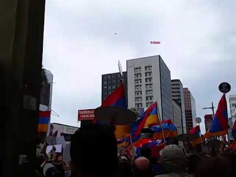 Los Angeles Rally to commemorate the Armenian genocide