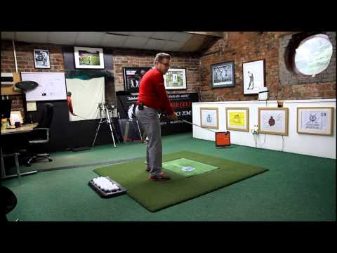 how to get the right side bend golf drive
