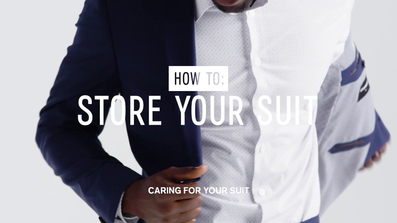 How to Store a Suit (the Right Way)
