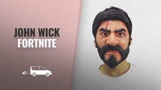 John Wick Fortnite Fans Collection: John Wick Reaper Replica Fortnite Skin Mask Halloween Cosplay