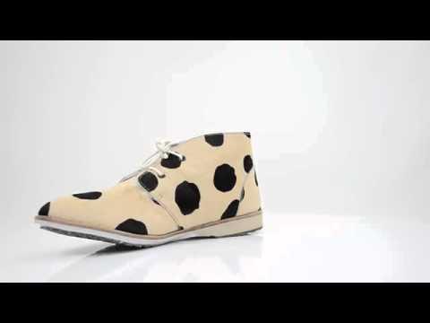 Женские ботинки без каблука ROLLIE CHUKKA