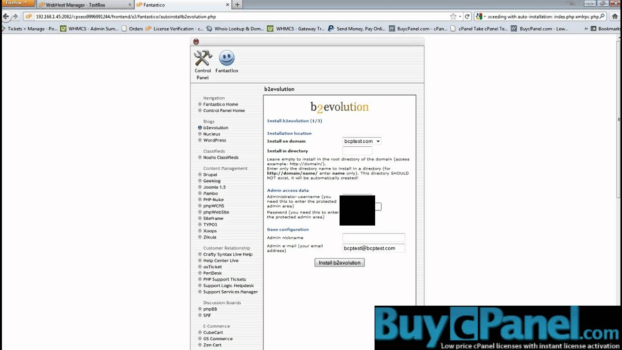 Buy License Cpanel