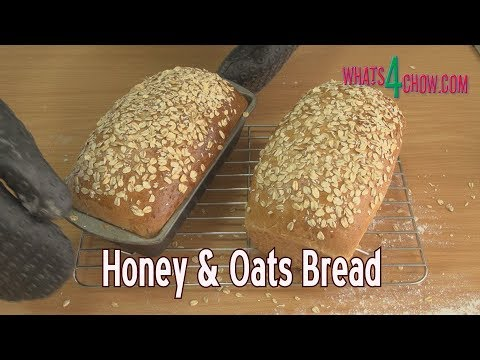 How to Make Honey & Oat Bread - a Simple Homemade Health Bread