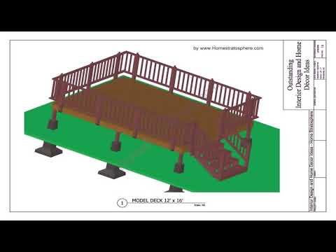 Build Floating Deck Over Concrete Patio