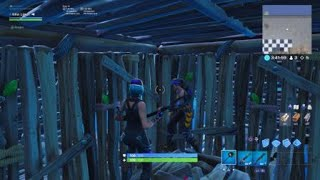New fortnite glitch from Traverse building