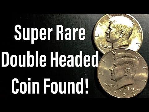 Super Rare Find! Double Headed Half Dollar Coin!