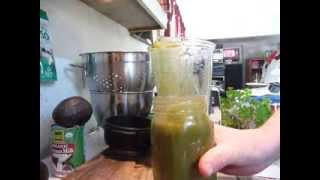How To Make A Green Smoothie Basics For Beginners- Green Smoothie Recipe 1 Thumbnail
