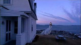 Maine Lighthouse - Marshall Point Light - Early Morning