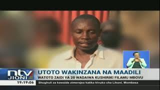 Watoto zaidi ya 20 wafumaniwa wakirekodi video za ngono, Kakamega