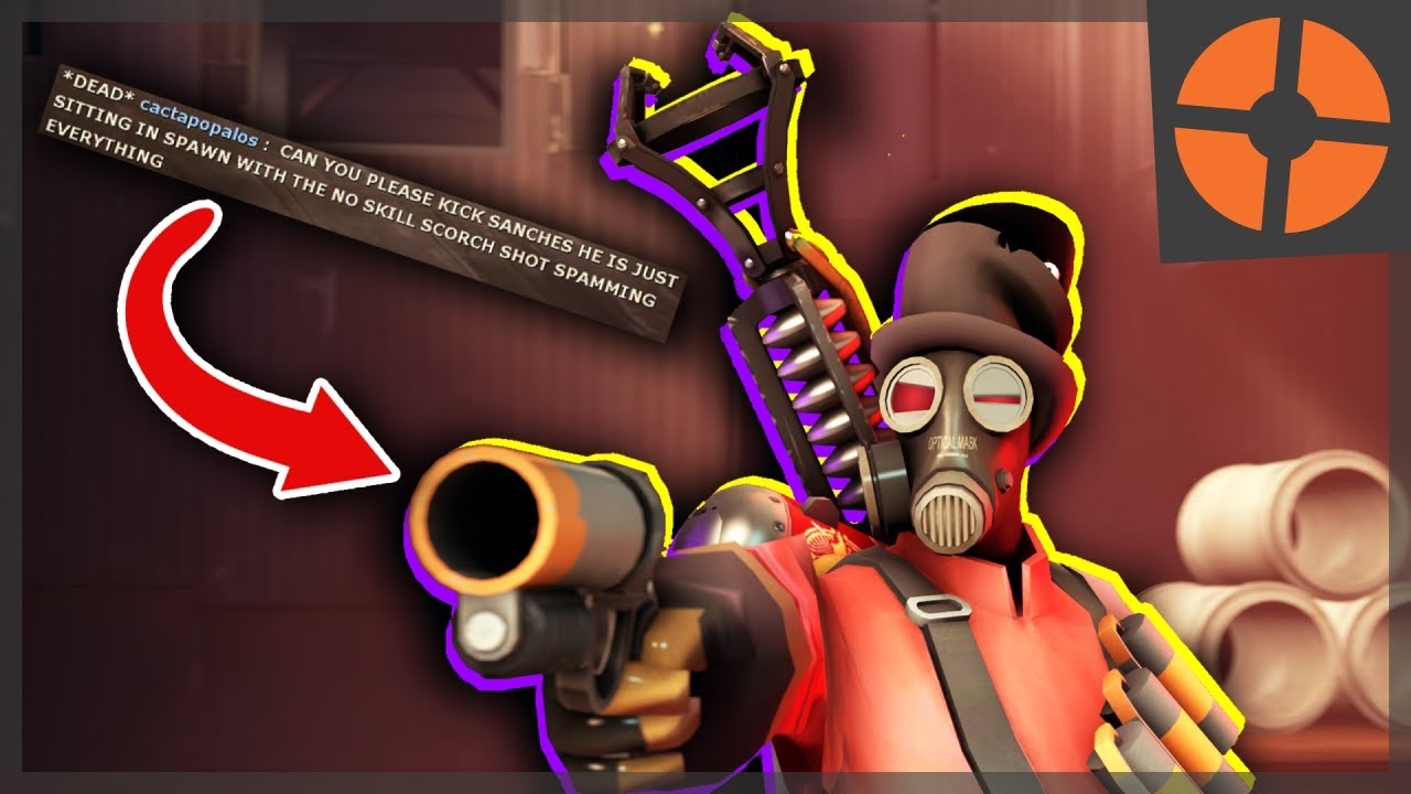 TF2: THE MOST ANNOYING PYRO LOADOUT??