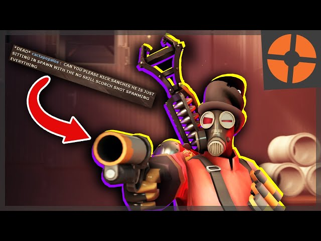 TF2: THE MOST ANNOYING PYRO LOADOUT?? Standard quality (480p)