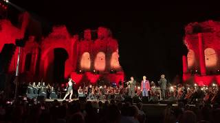 Brittany O'Connor Guest Artist with Andrea Bocelli in Taormina Sicily- Aranjuez