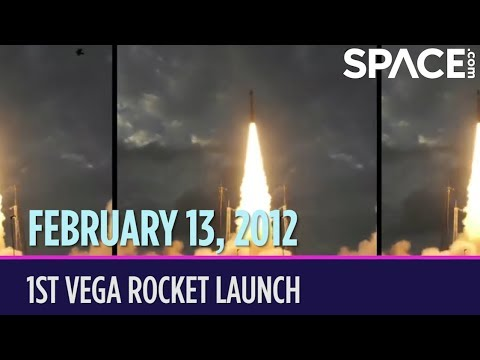 OTD in Space – February 13: 1st Vega Rocket Launch